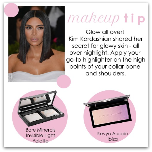 Makeup Tip - Highlighting - Houppette