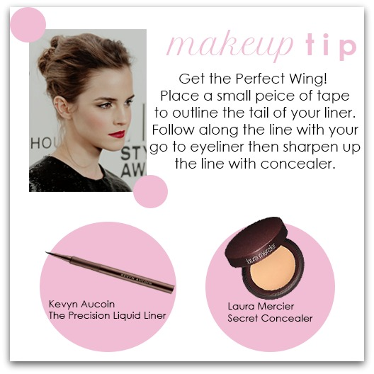 Winged Liner Makeup Tip - Houppette