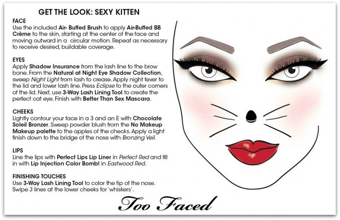 Too Faced Halloween Kitten
