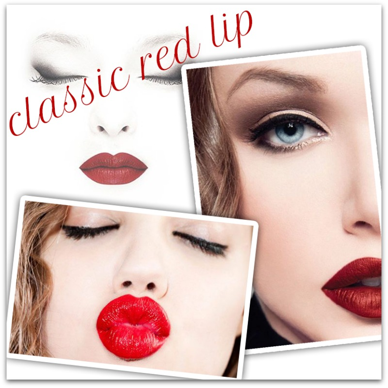 classic red lip | houppette