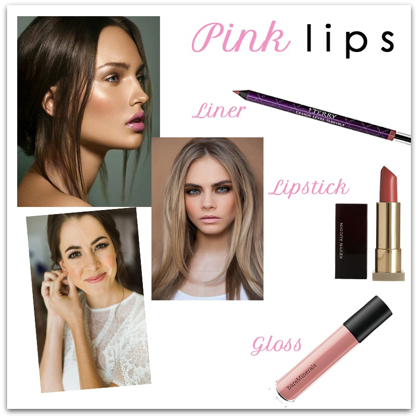look we love: pink lips - houppette