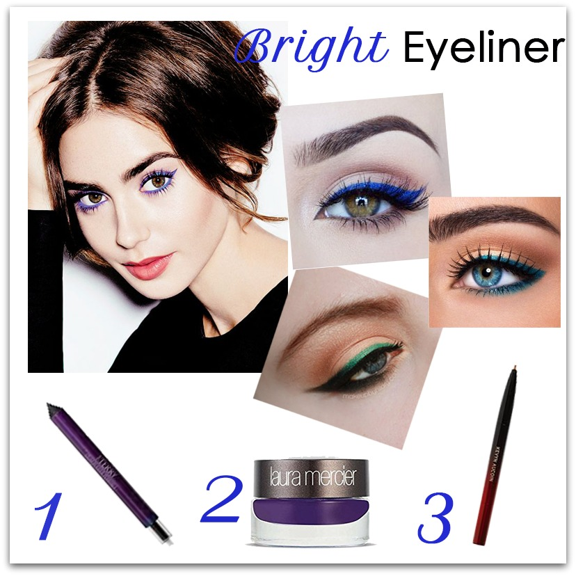 look we love: bright eyeliner - houppette