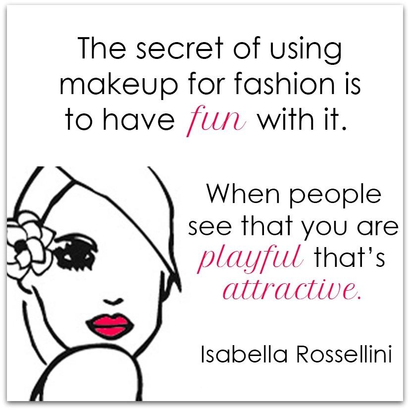 Monday Motivation - Isabella Rossellini