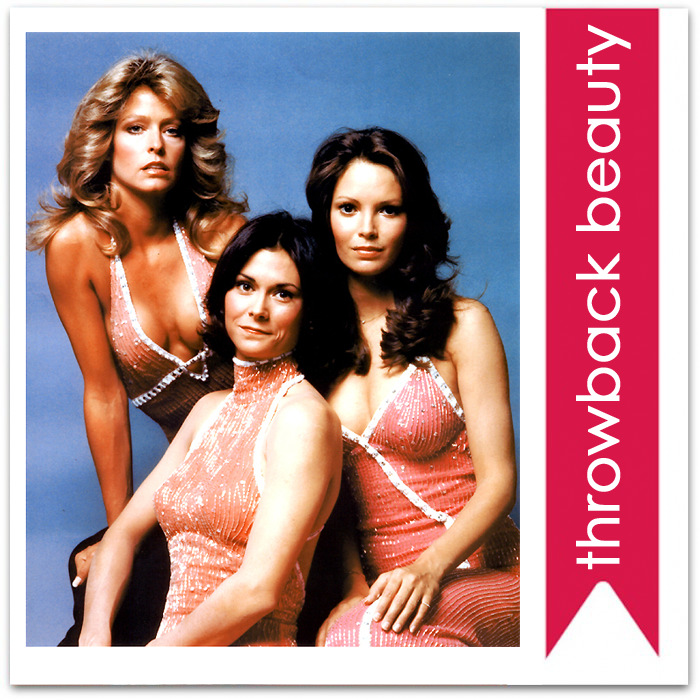throwback beauty: charlies angels