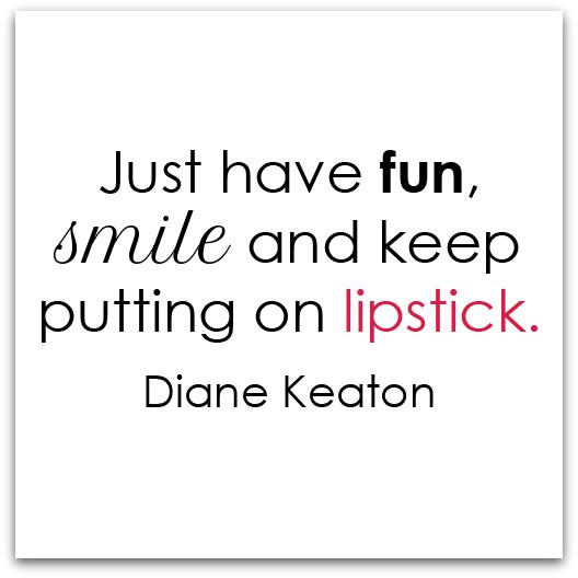 beauty advice from diane keaton