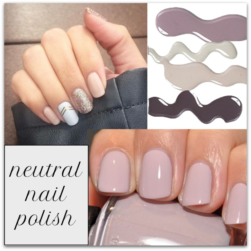 Neutral Nail Polish Trend | houppette