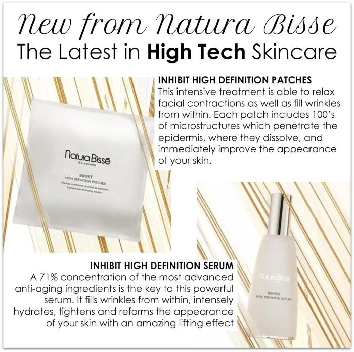high-tech beauty from natura bisse