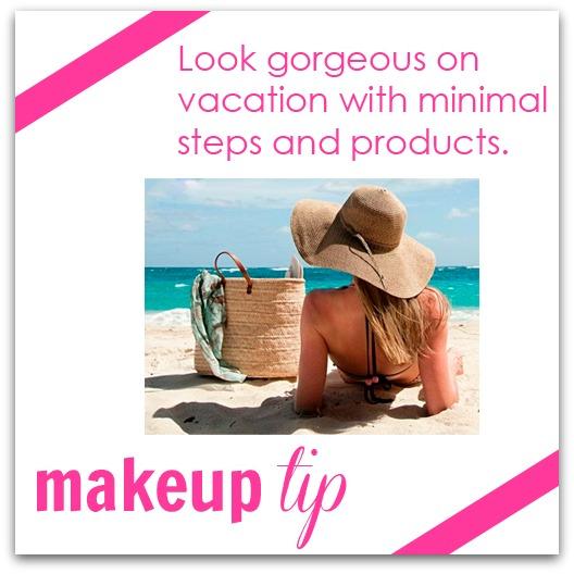 vacation makeup tip